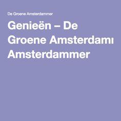 Genieën – De Groene Amsterdammer