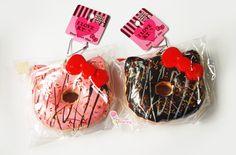Rare Jumbo Hello Kitty Donut Charm. $16.90, via Etsy.