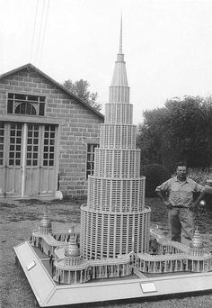 """self-taught Italian-American Marino Auriti that""""on November 16, 1955 filed a design with the US Patent office depicting his Palazzo Enciclopedico (The Encyclopedic Palace), an imaginary museum that was meant to house all worldly knowledge, bringing together the greatest discoveries of the human race, from the wheel to the satellite"""