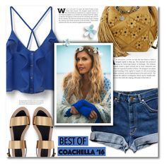 """""""Hot Coachella Style"""" by dolly-valkyrie ❤ liked on Polyvore featuring MANGO, Zara, Roger Vivier and bestofcoachella"""