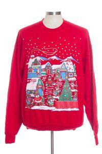 Red Ugly Christmas Sweatshirt 30363
