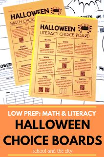 3 ideas for celebrating Halloween in your upper-elementary classroom: activities for 3rd graders on Halloween!