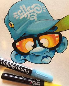 CHEO's charcaters are dope and so are the Ironlak Action Pump markers he uses! Be sure to get all your Ironlak markers from out shop