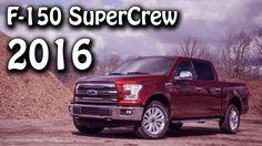 2016 Ford F-150 SuperCrew 5.0L V8 4x4 6-Speed Automatic