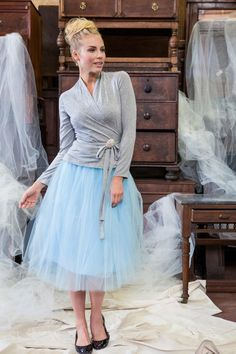 White Tulle Boom Skirt from the Fall Collection by Shabby Apple