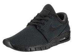 Nike Men's Stefan Janoski Max Black/black Skate Shoe (7)