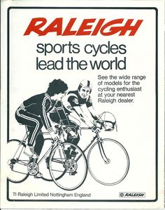 36 Best TI Raleigh images | Cycling, Raleigh bikes, Tour de
