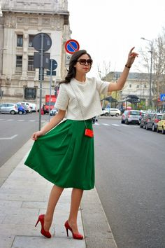 My Very 1st Midi Skirt by Juliane Borges on @sbaam http://sba.am/4rc0eijbchc