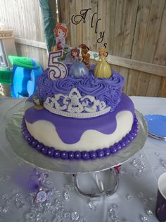 Ally's Sofia the First birthday cake