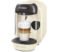 Buy Tassimo by Bosch T12 Vivy - Cream at Argos.co.uk - Your Online Shop for Coffee machines, Kitchen electricals, Home and garden.