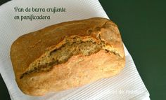 Pan de barra crujiente en panificadora