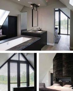living room ideas – New Ideas Loft App, Upstairs Bathrooms, Piece A Vivre, Easy Home Decor, House Floor Plans, Lofts, Master Bedroom, New Homes, House Design