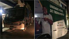 ABUSO DE PODER ÔNIBUS DA PETROBRAS TRANSPORTA MANIFESTANTES DO PT E DA CUT EM BRASÍLIA 'UNIDADE MÓVEL DE TREINAMENTO' DA PETROBRAS LEVA MANIFESTANTES Publicado: 14 de abril de 2016
