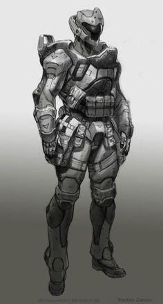 Sleipnir Industries- Project: Gestalt Armor: Model Atlas XII