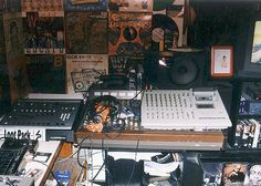 History of the Loop Digga: Most of the music on Madlib Medicine Show #5: The History of the Loop Digga, was created from beats stored on floppy disc, created on SP-1200, and recorded & mixed on a Tascam 8-track, 1/4-inch reel-to-reel, or Tascam 8-track cassette deck. (Even the debut Quasimoto album was recorded on 8-track cassette)