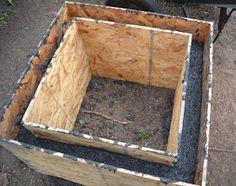 34 Ideas Diy Garden Furniture Table Planters For 2019 Diy Concrete Planters, Concrete Molds, Cement Pots, Decorative Planters, Concrete Garden, Diy Planters, Planter Boxes, Succulent Planters, Succulents Garden