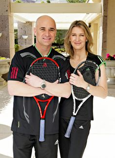 Andre & Stefanie. Love match