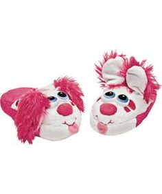 Buy Stompeez Pink Perky Puppy Slippers - Size Extra Small at Argos.co.uk - Your Online Shop for Slippers.
