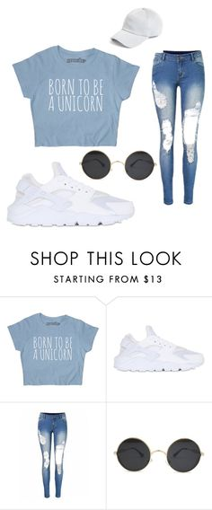 """Chill Outfit"" by daviscarmen on Polyvore featuring NIKE and rag & bone"