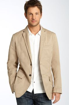 Tailored Sports Coat for Men - Matures a casual look.