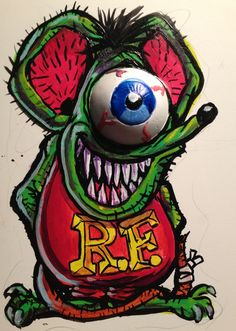 Cyclops Rat Fink