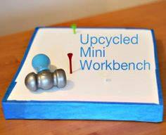 Upcycled Mini Workbench