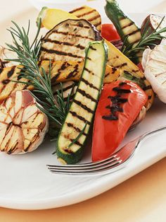 Grilled vegetables are perfect for the summer, and grilling adds flavor. #MetabolicResearchCenter