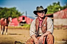 Texas Ranger, Robert Johnson, Robert J Johnson, Actor, Print Model, Dallas