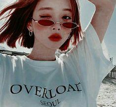Korean Ulzzang, Korean Girl, Asian Girl, Aesthetic People, Aesthetic Images, Korean Aesthetic, Red Aesthetic, Girl Korea, Uzzlang Girl