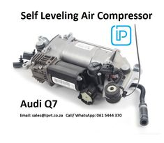 4L0698007C New For Audi Q7 Air Airmatic Suspension Compressor Air Pump TCT.  International Parts & Vehicle Technologies The Zone, Phase 2, 1st Floor, East Wing, 26 Craddock Avenue, Rosebank,  Johannesburg, 2196. South Africa Email: sales@ipvt.co.za Mobile: 061 5444 370  Reference OE/OEM Number:  4L0 698 007 A,  4L0 698 007 B,  4L0698007 ,  4L0698007A,  4L0698007B,  4L0698007C,  7L0698006D,  #Audi #AudiQ7 #Q7 #AudiLover #AudiFan #VW #SouthAfrica Audi Q7, Phase 2, Air Compressor, South Africa, Technology, Vehicles, Tech, Tecnologia, Car