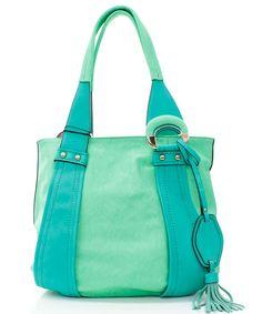 Mint on Turquoise Jenna Hobo on Emma Stine Limited