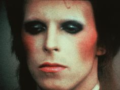 """David Bowie, From The Film, """"Ziggy Stardust & The Spiders From Mars"""", Circa Bowie Life On Mars, Alan Clarke, Labyrinth 1986, John Landis, David Bowie Born, Tony Scott, Ziggy Played Guitar, Mick Ronson, Makeup"""