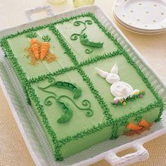Adorable Easter sheet cake.