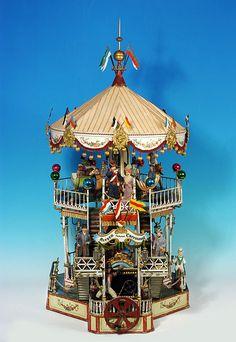 Märklin carousel, 1909