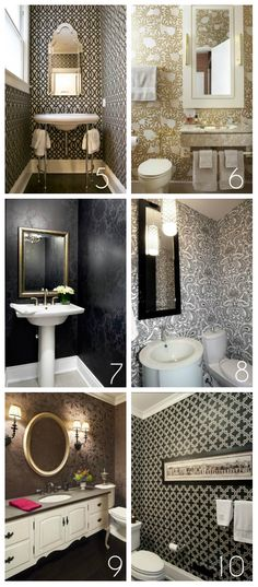cloakroom ideas 2 .... gold n white?