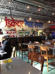Chai Pani -great indian street food. Full of flavor