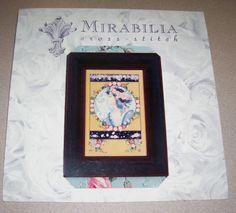 Beautiful Mirabilia Counted Cross Stitch Pattern English Roses Nora Corbett | eBay