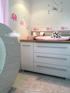 Wunderbar Kinderzimmer Wandsticker Punkte In Pink/mint/gelb 140 Teilig | Einhorn  Mädchenzimmer | Pinterest