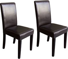 Dining Room Furniture - Brown 2-Piece Accent Dining Chair Set
