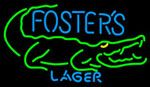 Fosters Crocodile Neon Beer Sign, Fosters Neon Beer Signs & Lights | Neon Beer Signs & Lights. Makes a great gift. High impact, eye catching, real glass tube neon sign. In stock. Ships in 5 days or less. Brand New Indoor Neon Sign. Neon Tube thickness is 9MM. All Neon Signs have 1 year warranty and 0% breakage guarantee.