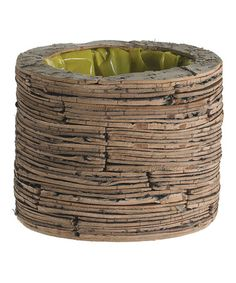 Take a look at this Natural Large Birch Planter by Accent Décor on #zulily today!