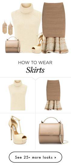 """Donna Karan Skirt"" by borntoread on Polyvore featuring мода, Étoile Isabel Marant, Donna Karan, Steve Madden, Givenchy и Kenneth Cole"