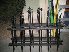 Halloween Cemetery Fence pvc | PVC pipe DIY & ideas