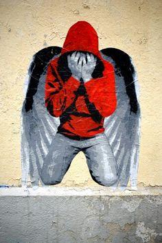 Ender - street art - paris 20, rue de l'ermitage (juin 2013)