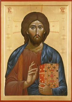 Russian icon of Christ Russian Icons, Russian Art, Religious Icons, Religious Art, Gold Work, Orthodox Icons, Holy Spirit, Jesus Christ, Painting