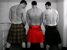 Something hot about kilts.