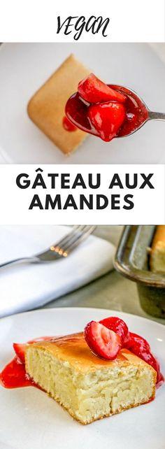 Gâteau aux Amandes - Vous connaissez la poudre d'amandes ? Communément appelées amandes moulues. J'en fais un merveilleux gâteau si simple à réaliser.Pas le temps de cuisiner ? Essayez cette recette de gâteau vegan aux amandes !