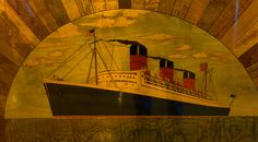 All Hail The Queen! Visiting the Queen Mary in Long Beach. Great Places To Travel, Queen Mary, Southampton, Long Beach, Travel Photos, Painting, Travel, Travel Pictures, Painting Art