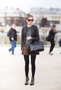 Early winter on the street, Paris is Coming, Fashion is Here!!  #ParisComing Daliy Street Outfit 14-11-20