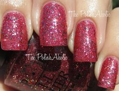 Nail Polish I want - OPI's Excuse Moi! A MIss Piggy themed pinker glitter. Saved for future purchaing reminder.